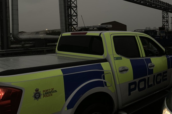 Stolen Ifor Williams Trailer Recovered at the Port of Liverpool