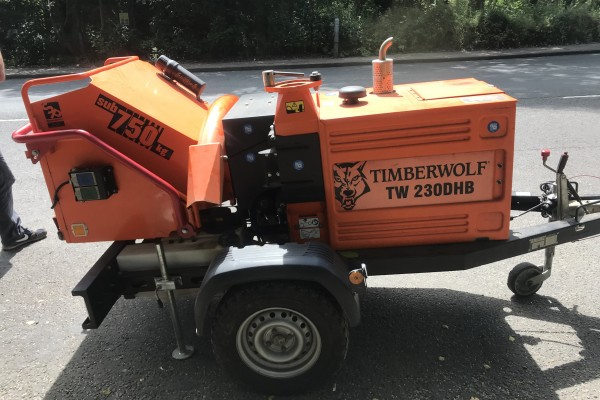 Stolen wood chipper worth £22,000 recovered by Sure-Track