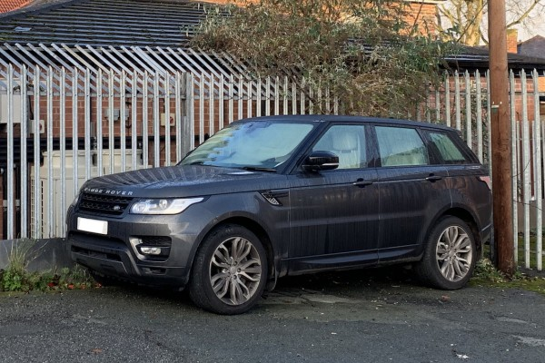 All I want for Christmas is... my Range Rover back!