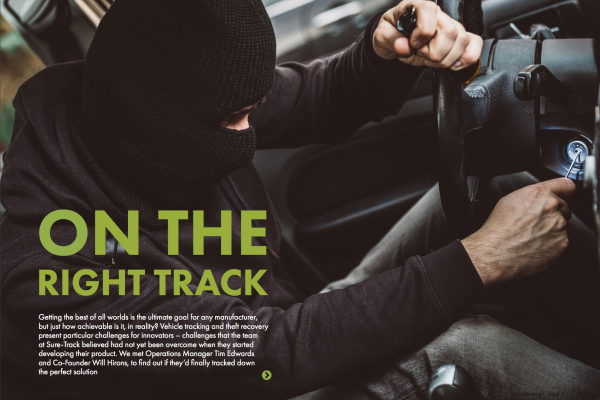 Sure-Track featured in Breakthrough Magazine