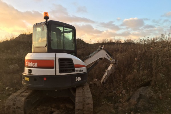 Sure-Track recovers a Bobcat Excavator within Four Hours